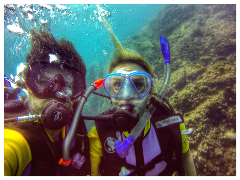 Tauchen in Ko Lanta in Thailand Vanessa und Dominik