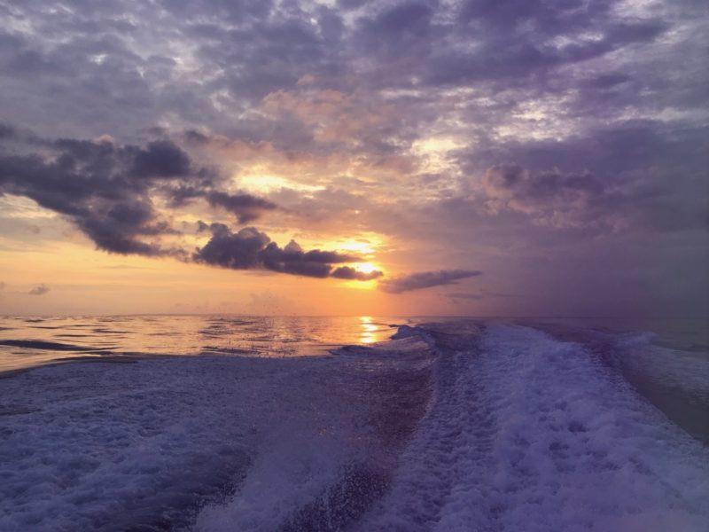 Scuba Diving Divemaster Diarys Bali Sunset Boat Ocean