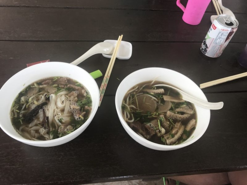 Scuba Diving Divemaster Diarys Food Malaysia Beef Noodles